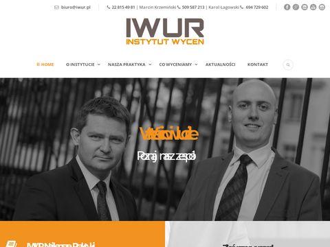 Iwur.pl wycena spółki Warszawa