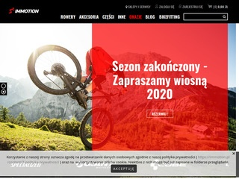 Immotion.pl sklepy rowerowe