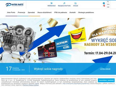 Interparts.pl części samochodowe Mława