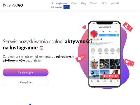 Instago.social wypromuj swój Instagram