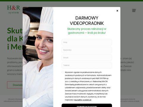 Hr-system.pl szkolenia kelnerskie