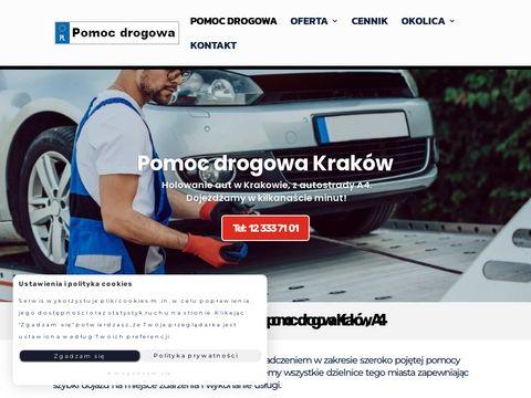 Holowaniekrakow.pl pomoc drogowa