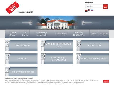 Historica.com.pl produkty do renowacji zabytków