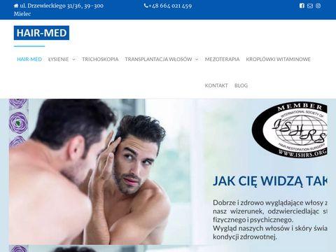 Hair-med.pl przeszczep włosów FUE