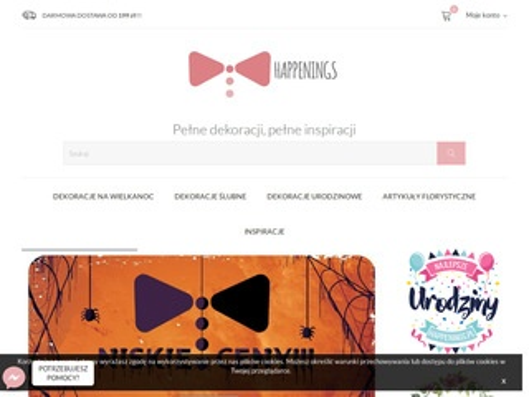 Happenings.pl dekoracje na specjalne okazje