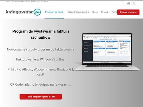 Ksiegowosc24.pl program do fakturowania