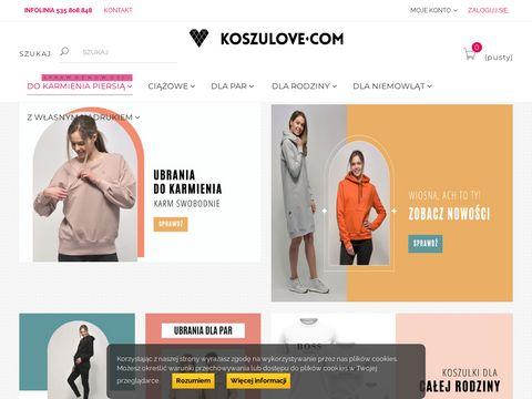 Koszulove.com tania odzież ciążowa