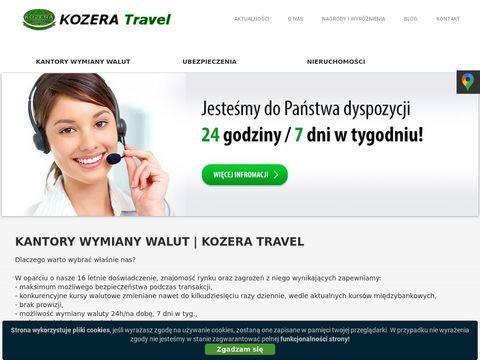Kozera-travel.pl tani kantor wymiany walut