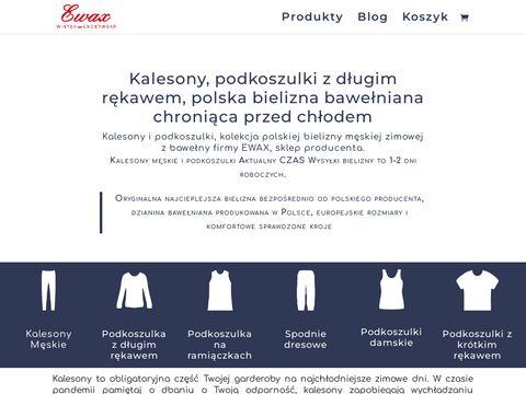 Kalesony.com.pl bawełniane