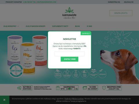 Kannawide.com olejki z konopi