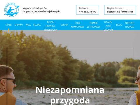 Kajaki-domaszk.pl - spływy Wdą