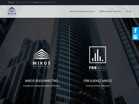 Mikos.net.pl budowa domów Kraków