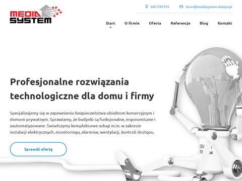 Media System alarmy Olsztyn