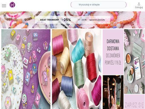 Manzuko.com bigle koraliki łańcuszki