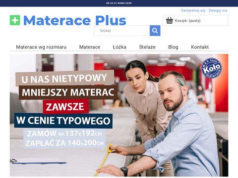 Materaceplus.pl na łóżko