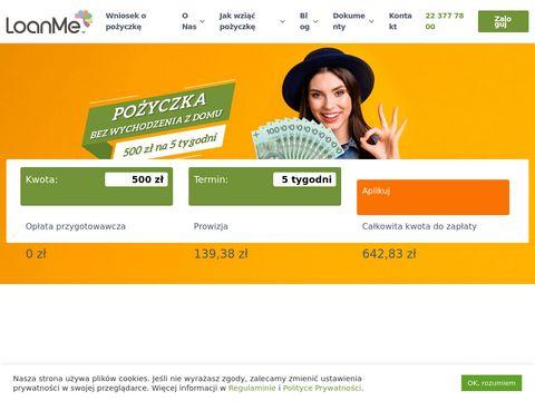Loanme.pl pożyczki online