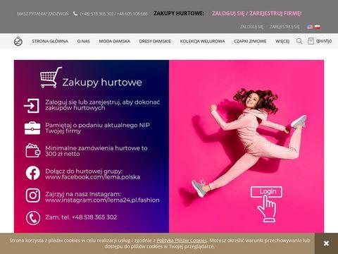 Lema24.pl odzież damska xxl