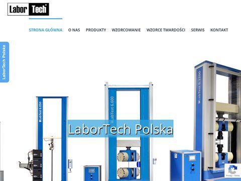 Labortech.pl maszyny wytrzymałościowe