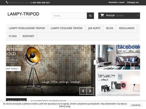 Lampy-tripod.pl na trójnogu