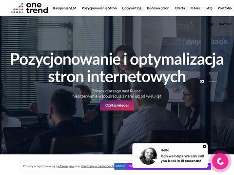 Onetrend.pl agencja interaktywna