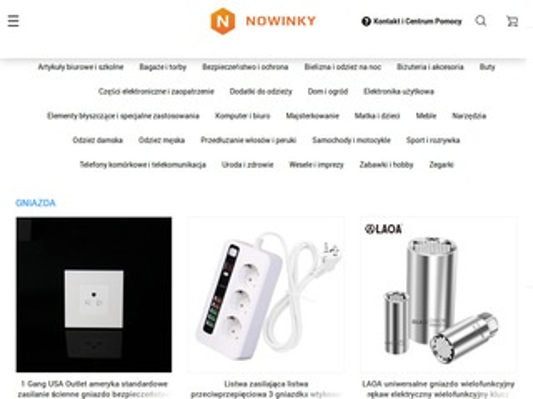 Nowinky.pl tanie zakupy online