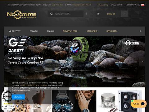 Novotime.pl modne i markowe zegarki