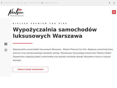 Nielsencars.pl wynajem aut luksusowych