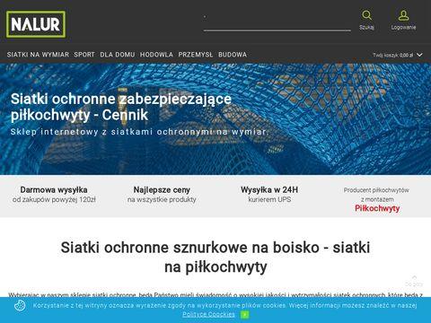 Nalur.pl - siatka zabezpieczająca
