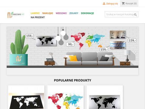 Dekoracje ścienne - nasciane.net