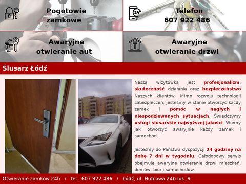 Awaryjne-otwieranie-lodz.pl ślusarz24