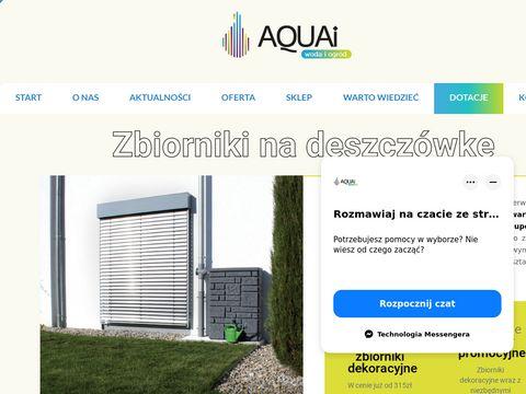 Aquai.pl studnie chłonne