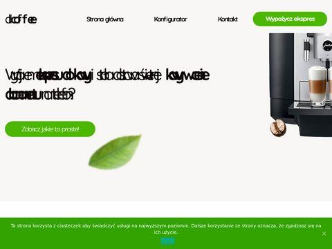 Allcoffee.pl wynajem ekspresów do kawy