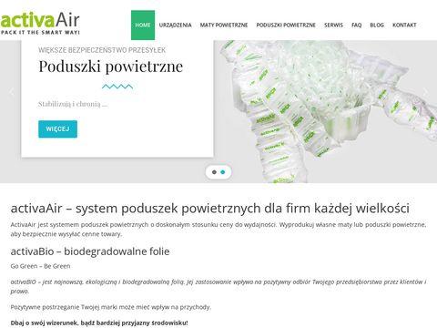 Activaair.pl wypełniacz do paczek