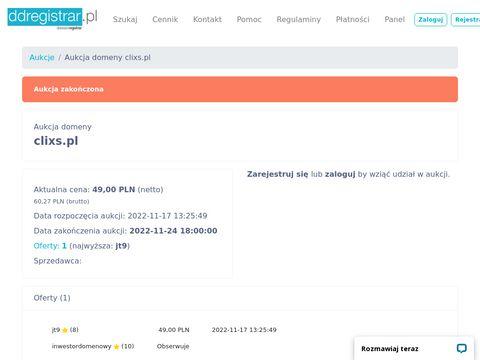 Clixs.pl serwis z ogłoszeniami