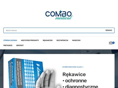 Combomedical.pl cękawiczki nitrylowe