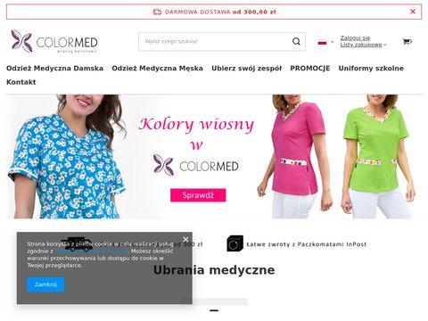 Colormed.pl fartuchy medyczne