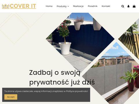 Cover-it.pl osłony na balkon na metry