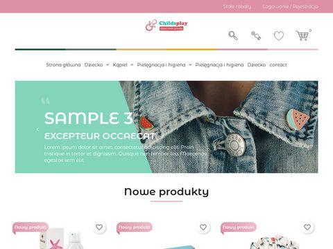 Childsplay.pl - wyjątkowy sklep