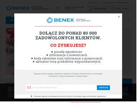 Cebule-kwiatowe.pl Benex sklep