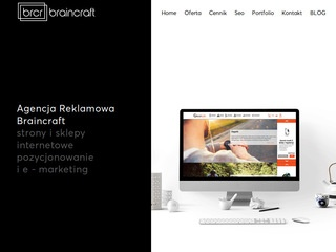 Brcr.pl agencja reklamowa Zabrze strony www