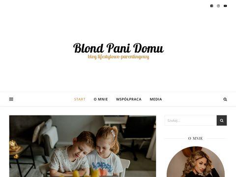 Blondpanidomu.pl blog lifestylowy