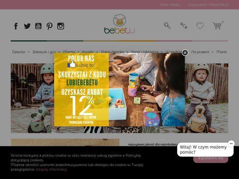 Bebetu.pl akcesoria dla najmłodszych