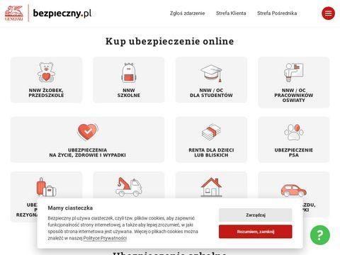 Vezpieczny.pl ubezpieczenia domu i mieszkania