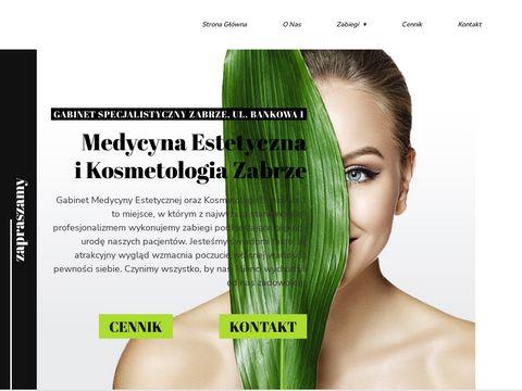 Bankowa1.pl gabinet kosmetyczny Zabrze