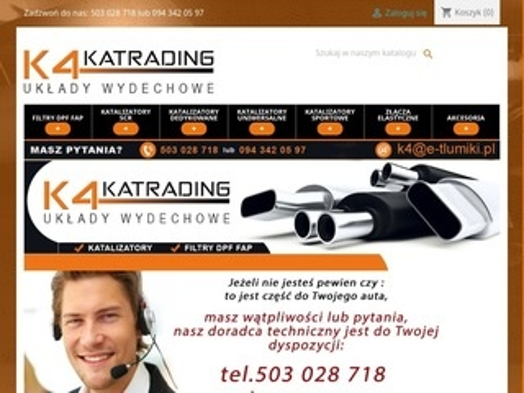 E-tlumiki.pl katalizator spalin