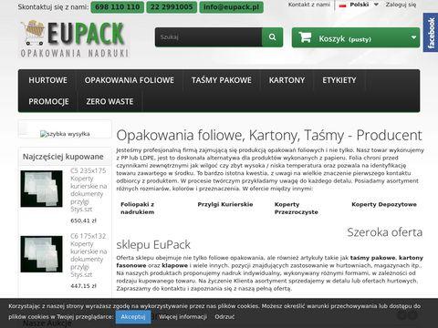 Eupack.pl opakowania foliowe