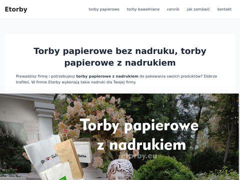 Etorby.eu papierowe Lublin