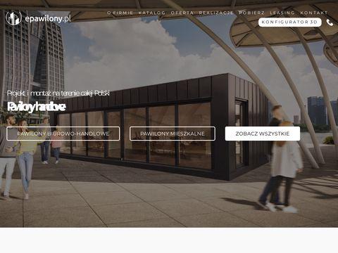 Epawilony.pl z płyt warstwowych