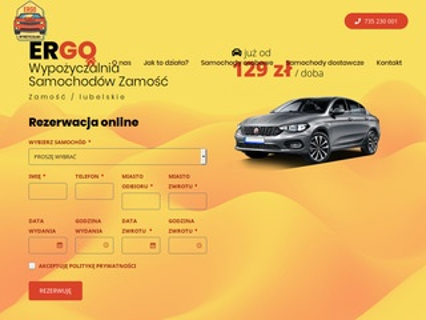 ERGO wynajem samochodów Zamość