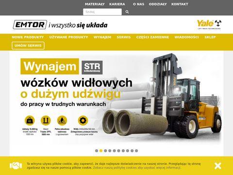 Emtor.pl wózki widłowe